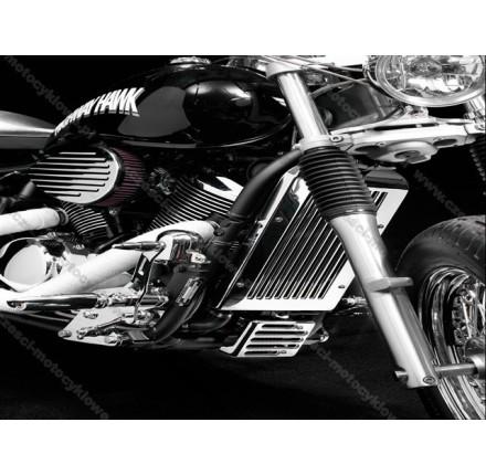 Osłona chłodnicy do Kawasaki VN900. Producent: Highway Hawk.