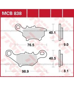 Klocki hamulcowe TRW MCB838